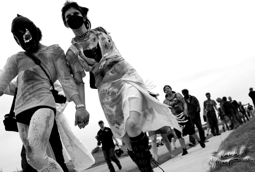 """Zombie Walk"" by Raechel Alexis Gasparac"