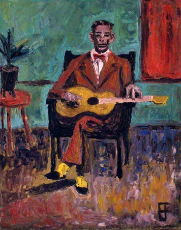 """""""Charlie Patton"""" by Allen Forrest"""