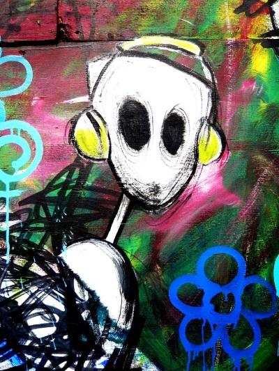 """Sarah Katharina Kayß """"London, UK"""" Graffiti by Squiddy Johnson and Nathan Bower"""