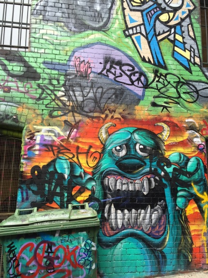 "Jamie Wilson ""Graffiti Art in the Melbourne Laneways"""