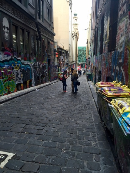 """Jamie Wilson """"Graffiti Laneways Visit"""""""